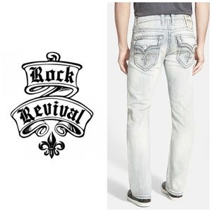NWT Rock Revival Mario Straight Leg Jeans 👖